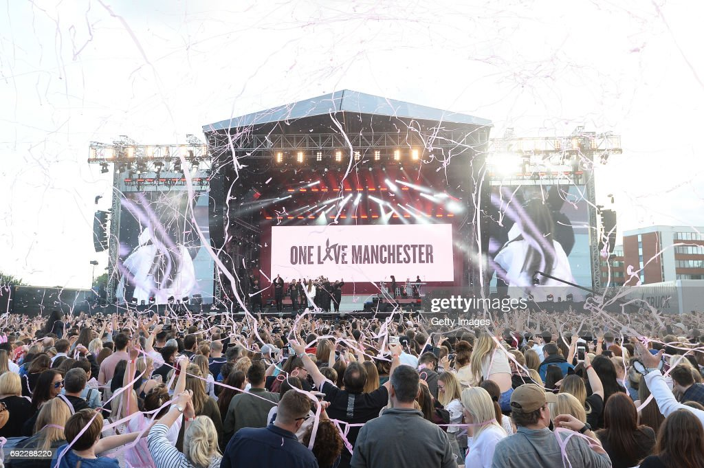 One Love Manchester Benefit Concert : News Photo