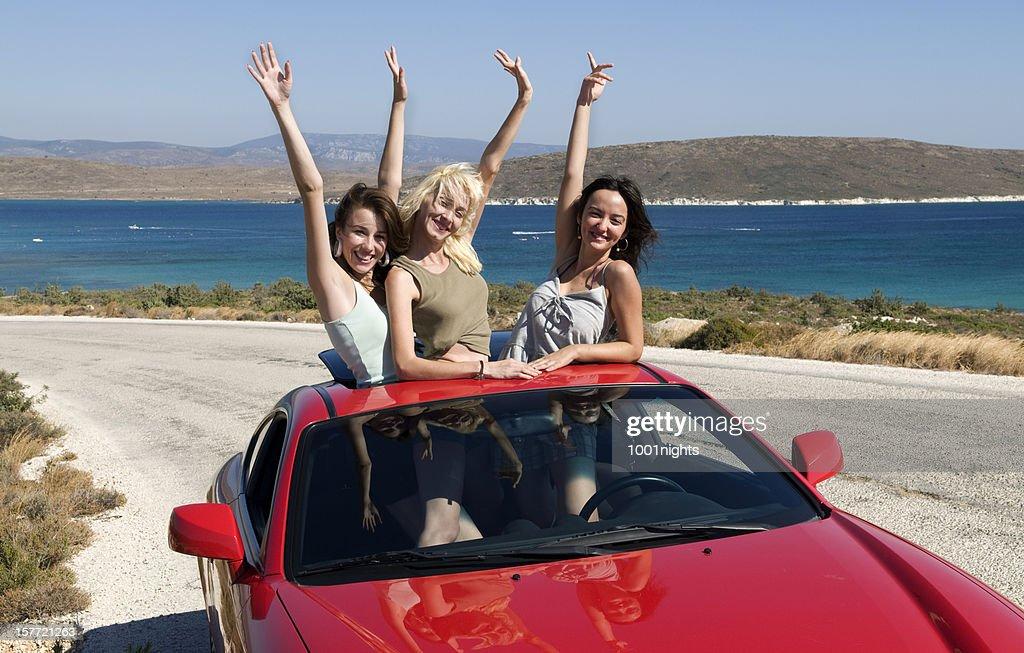 free girls! : Stock Photo