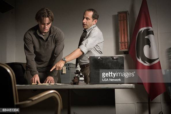 COLONY 'Free Radicals' Episode 207 Pictured Alex Neustaedter as Bram Bowman Peter Jacobson as Proxy Alan Snyder