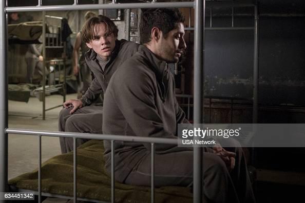 COLONY 'Free Radicals' Episode 207 Pictured Alex Neustaedter as Bram Bowman Max Arciniega as Edison