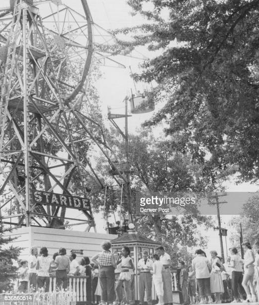 8111955 AUG 13 1956 free rides on the Staride and many other popular attractions at Lakeside Amusement park on Wednesday Aug 15 during the post...