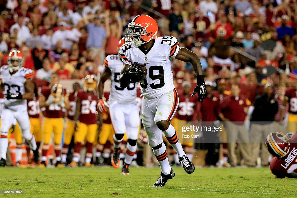 Cleveland Browns v Washington Redskins