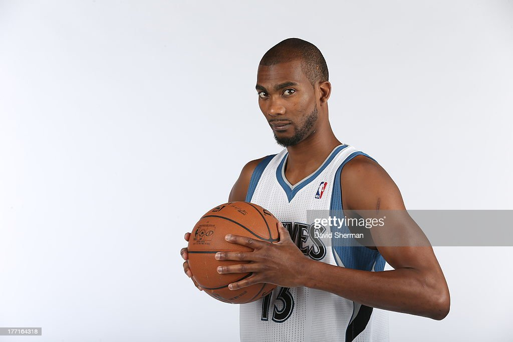 Free-agent acquisition Corey Brewer of the Minnesota Timberwolves poses for portraits on August 21, 2013 at Target Center in Minneapolis, Minnesota.