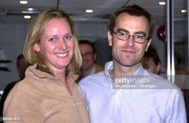 Freed British hostage Tim Selby arrives at Heathrow Airport for a reunion with his girlfriend Brigid Thorns after being discharged from a military...