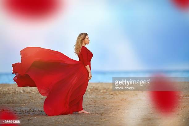 freedom feeling on the beach