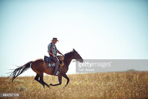 Freedom on the open fields