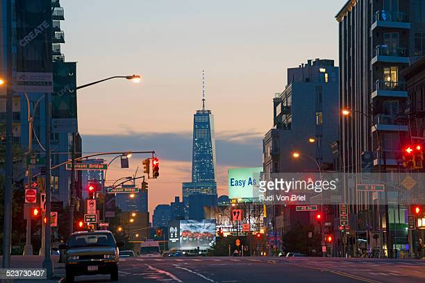 Freedom Tower seen from Queens, NYC.