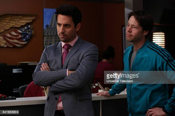 PROJECT 'Freedom Tower Women's Health' Episode 425 Pictured Ed Weeks as Jeremy Reed Ike Barinholtz as Morgan Tookers
