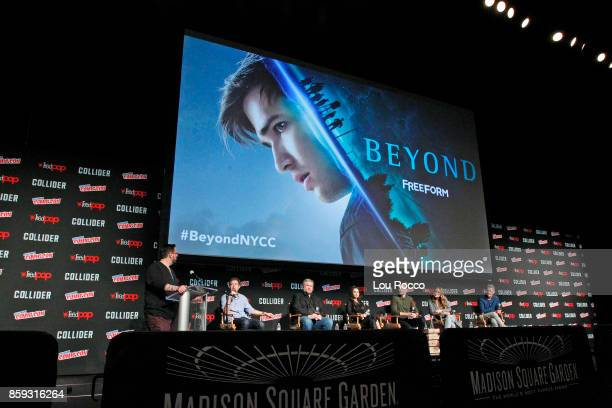 CON BEYOND Freeforms genre programming was out in full force at this years New York Comic Con on Saturday October 7th with executive producers and...