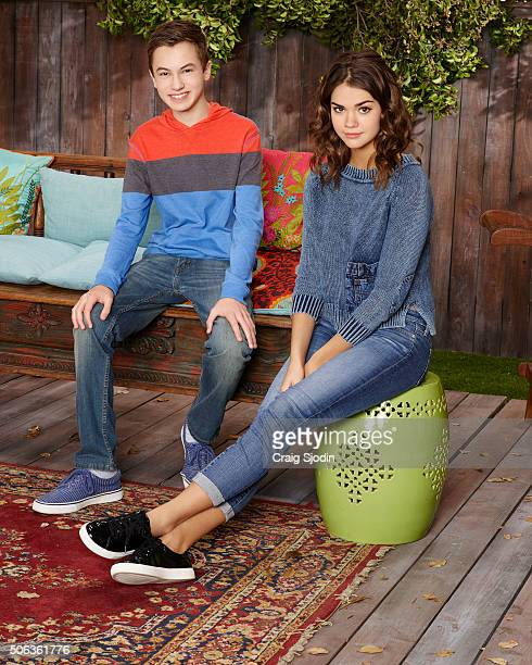 THE FOSTERS Freeforms's 'The Fosters' stars Hayden Byerly as Jude and Maia Mitchell as Callie