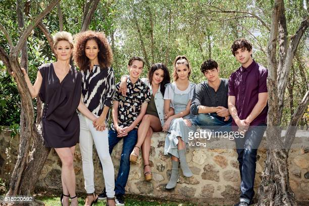 THE FOSTERS Freeformss 'The Fosters' stars Teri Polo as Stef Sherri Saum as Lena Hayden Byerly as Jude Cierra Ramirez as Mariana Maia Mitchell as...