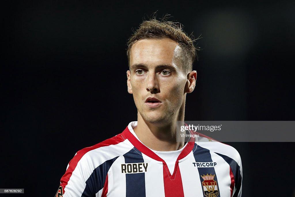 Freek Heerkens of Willem II during the Dutch Eredivisie match between Willem II and Vitesse on august 6 2016 at the Koning Willem II stadium in...