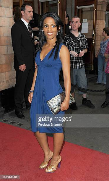 Freema Agyeman attends a special performance of Pricilla Queen Of The Desert The Musical on Ben Richards opening night on June 22 2010 in London...
