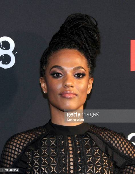 Freema Agyeman attends the 'Sense8' New York Premiere at AMC Lincoln Square Theater on April 26 2017 in New York City