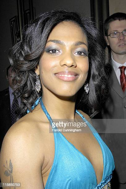 Freema Agyeman during 'Doctor Who' Series Three Premiere Outside Arrivals at Mayfair Hotel in London United Kingdom