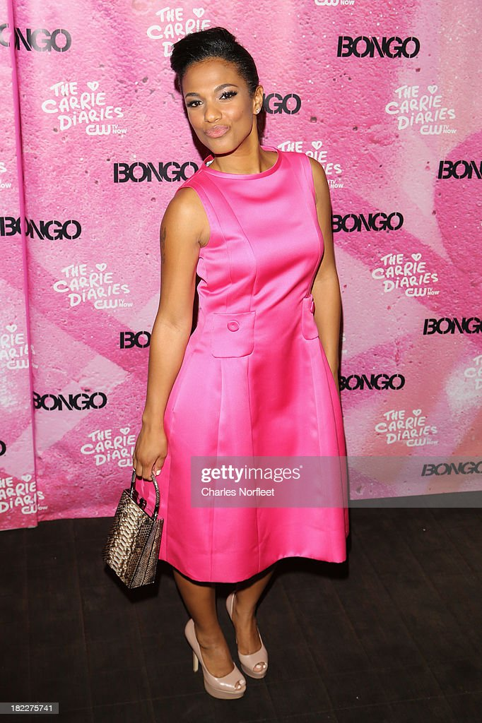 Freema Agyman attends 'The Carrie Diaries' Season Two Premiere Party hosted By Bongo September 28, 2013 in New York, United States.