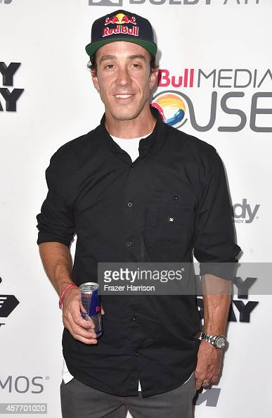 Freestyle motocross sportsman Robbie Maddison arrives at the Premiere Of Red Bull Media House's 'On Any Sunday The Next Chapter' at Dolby Theatre on...