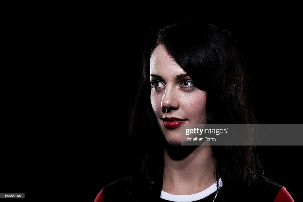 Freestyle skier Rosalind Groenewoud poses for a portrait during the Canadian Olympic Committee Portrait Shoot on May 13, 2013 in Vancouver, British Columbia, Canada.