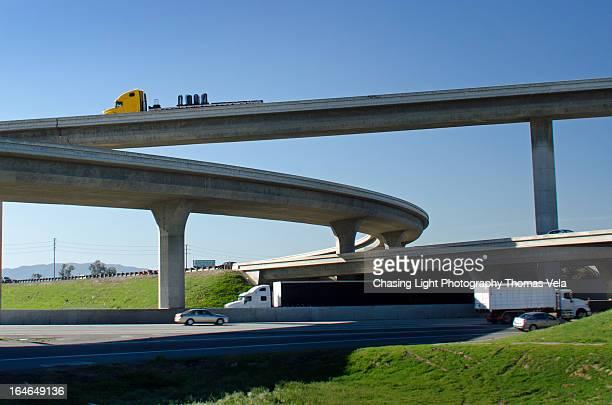 Freeway Interchange Four Levels High