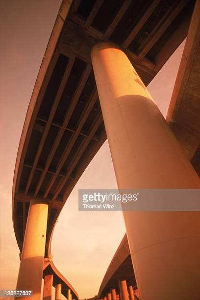 Freeway overpass, San Francisco, CA