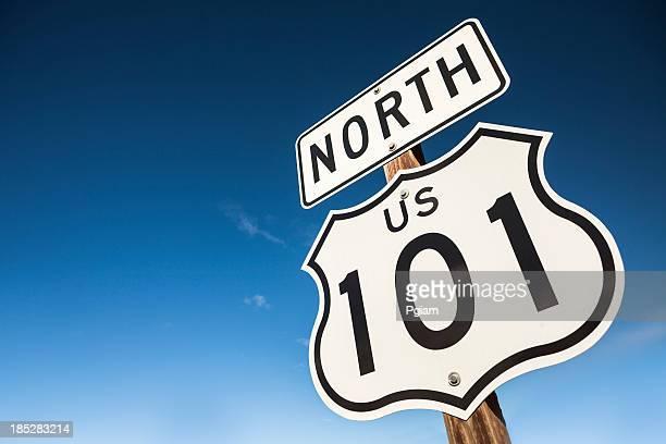 USA 101 superstrada segno di strada