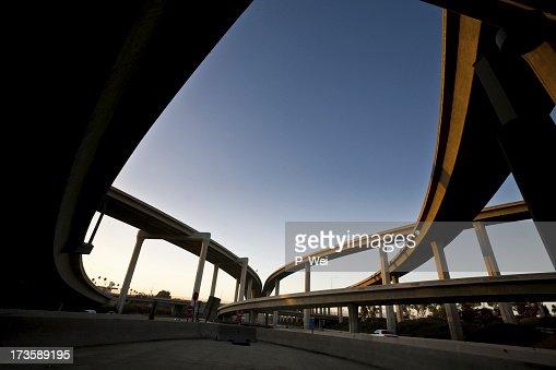 Freeway Silhouette