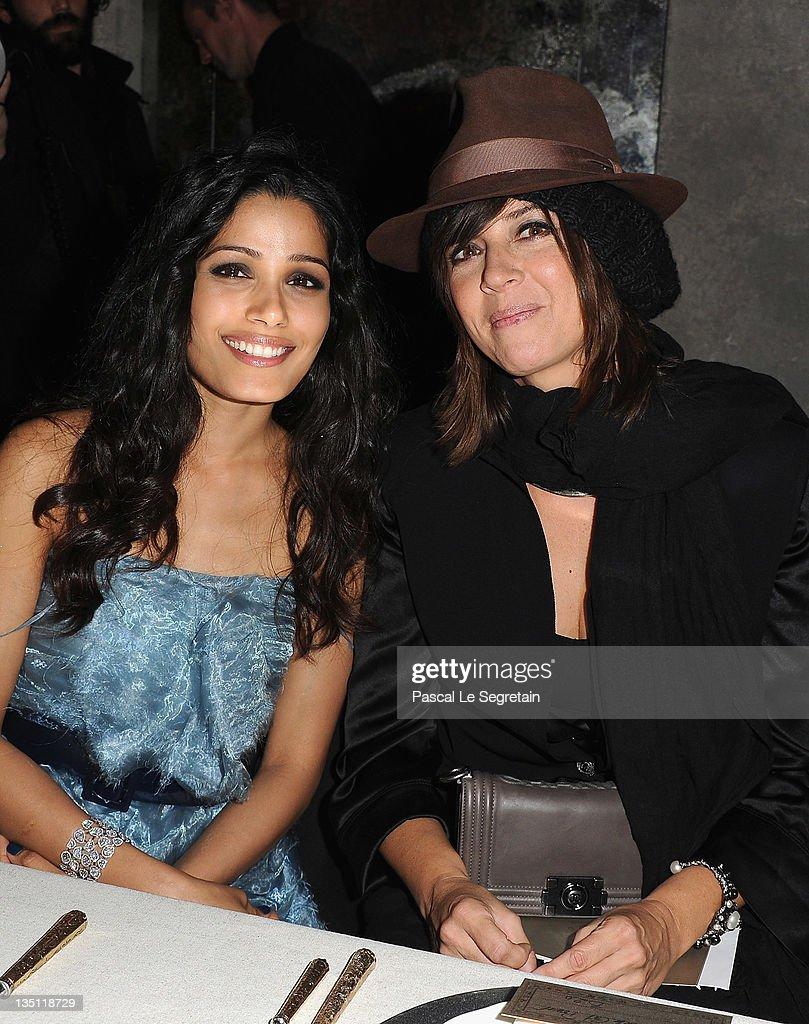 Chanel Paris-Bombay Show 2011/12 - Photocall