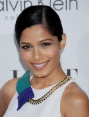 Freida Pinto arrives as ELLE Honors Hollywoods Most Esteemed Women in the 18th Annual Women in Hollywood Tribute at The Four Seasons Beverly Hills on...