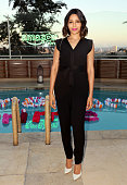 Freida Pinto attends Amazon Prime Summer Soiree hosted by Erin Foster and Sara Foster at the Sunset Towers on July 16 2015 in West Hollywood...