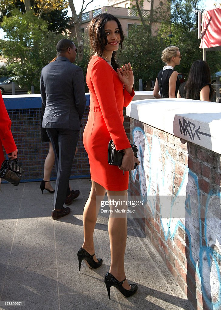 <a gi-track='captionPersonalityLinkClicked' href=/galleries/search?phrase=Freida+Pinto&family=editorial&specificpeople=5518973 ng-click='$event.stopPropagation()'>Freida Pinto</a> attends day 2 of the 70th Venice International Film Festival on August 29, 2013 in Venice, Italy.