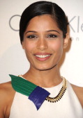 Freida Pinto attends ELLE's 18th Annual Women In Hollywood Event on October 17 2011 in Beverly Hills California