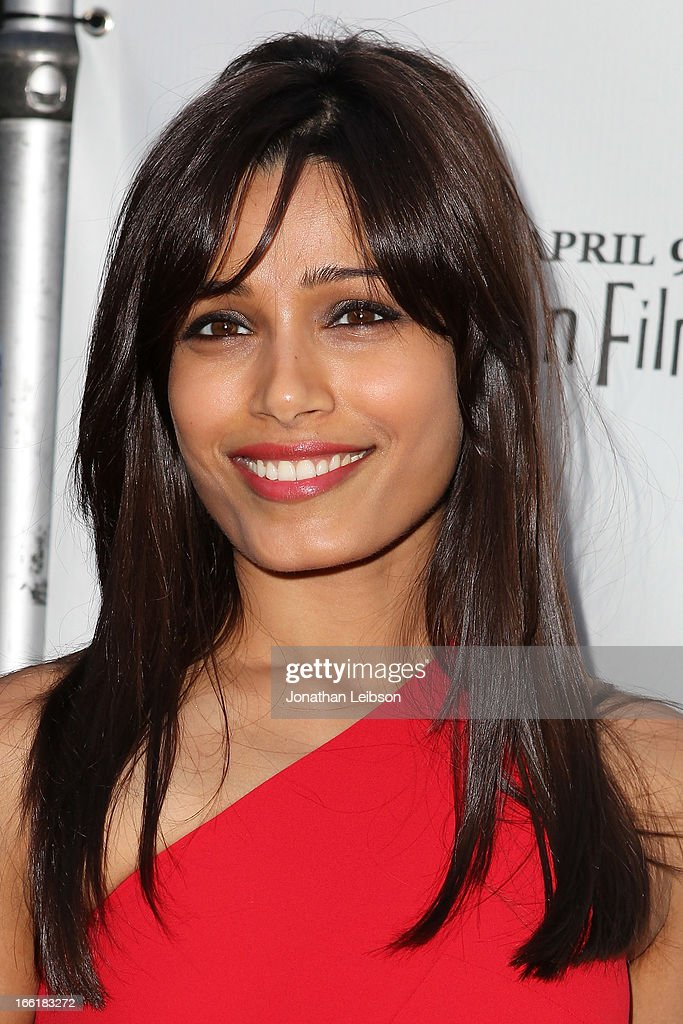 Freida Pinto attends the 11th annual Indian Film Festival of Los Angeles Opening Night Gala for 'Gangs Of Wasseypur' at ArcLight Hollywood on April 9, 2013 in Hollywood, California.