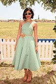 Freida Pinto attends the EighthAnnual Veuve Clicquot Polo Classic at Liberty State Park on May 30 2015 in Jersey City New Jersey
