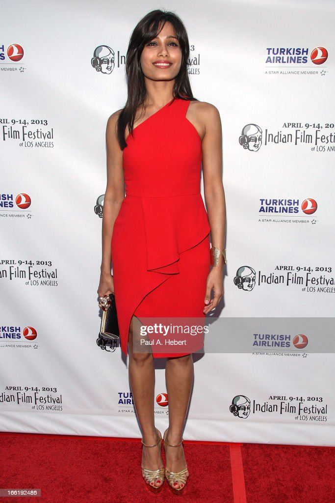 Freida Pinto attends the Indian Film Festival Of Los Angeles (IFFLA) Opening Night Gala For 'Gangs Of Wasseypur' on April 9, 2013 in Hollywood, California.