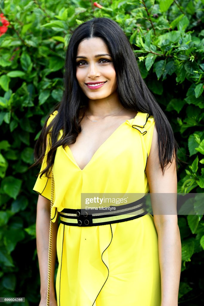 Freida Pinto, recipient of the Shining Star Award, attends 'Taste of Summer' during day one of the 2017 Maui Film Festival At Wailea on June 21, 2017 in Wailea, Hawaii.