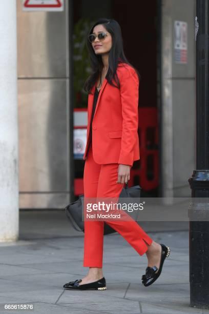 Freida Pinto sighting on April 7 2017 in London England