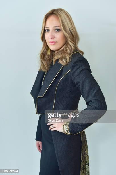 Freida Rothman at the John Paul Ataker Show featuring Freida Rothman Jewelry during New York Fashion Week at Pier 59 Studios on February 14 2017 in...