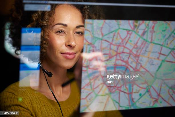 freight dispatcher with digital display
