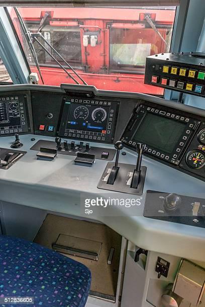 Fracht Lokomotive Kontrolle Schreibtisch