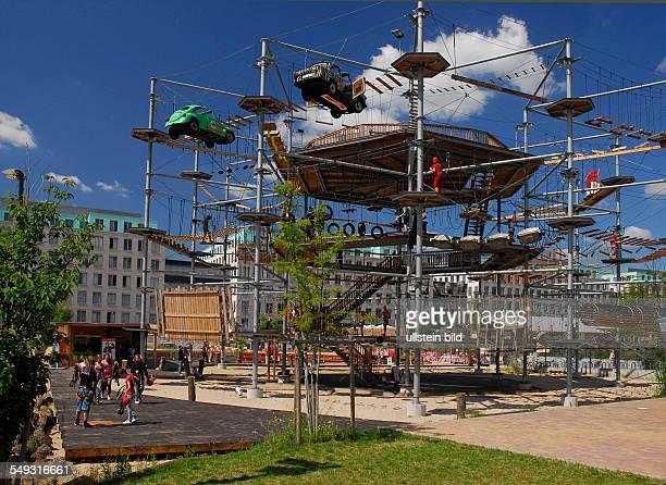 Freizeitanlage MountMitte Hochseilgarten in BerlinMitte