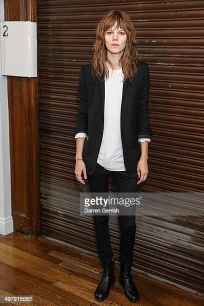 Freja Beha Erichsen attends AnOther x Byredo dinner at Liberty on November 19 2015 in London England