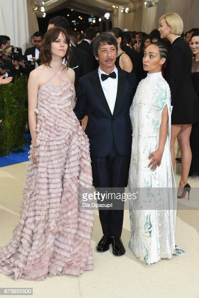 Freja Beha Erichsen Pierpaolo Piccioli and Ruth Negga attend the 'Rei Kawakubo/Comme des Garcons Art Of The InBetween' Costume Institute Gala at...