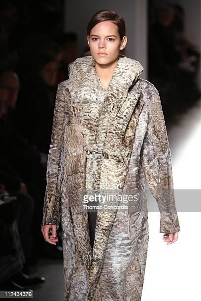 Freja Beha Erichsen wearing Calvin Klein Fall 2006