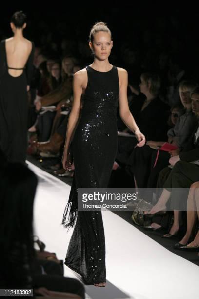 Freja Beha Erichsen wearing Michael Kors Spring 2007