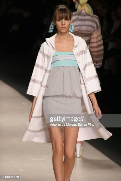 Freja Beha Erichsen wearing Missoni Spring/Summer 2007