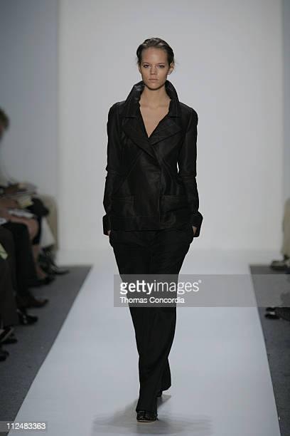 Freja Beha Erichsen wearing Richard Chai Spring 2007