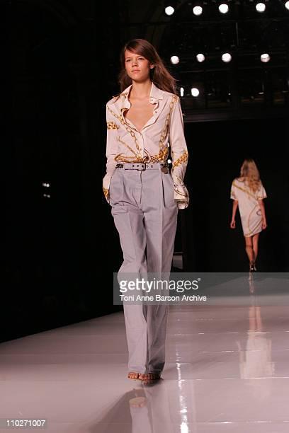 Freja Beha Erichsen wearing Stella McCartney Spring/Summer 2006