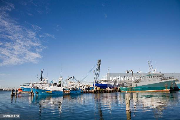Fremantle Fishing Boats