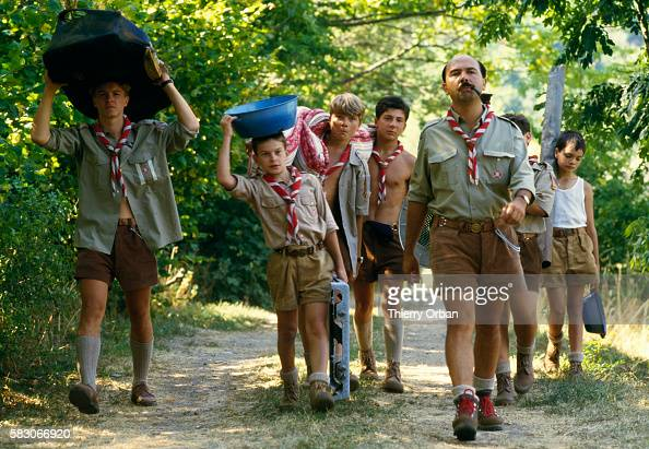 gerard jugnot marching in scout toujours pictures getty images. Black Bedroom Furniture Sets. Home Design Ideas