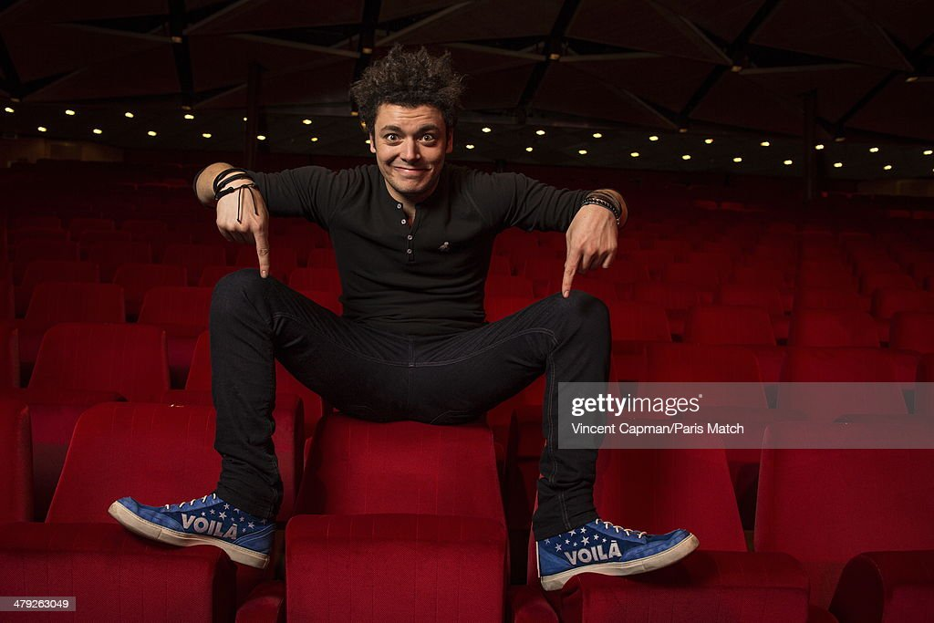 French actor and humorist <a gi-track='captionPersonalityLinkClicked' href=/galleries/search?phrase=Kev+Adams&family=editorial&specificpeople=8192242 ng-click='$event.stopPropagation()'>Kev Adams</a> is photographed for Paris Match on March 01, 2014 in Geneva, Switzerland.